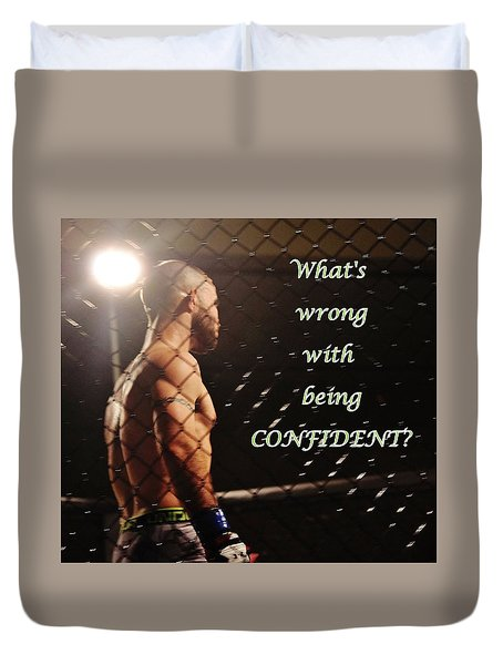 Confident Duvet Cover