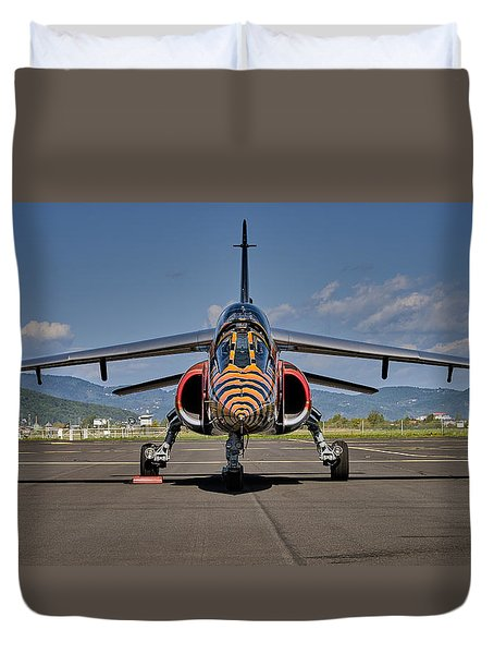 Confrontation Duvet Cover