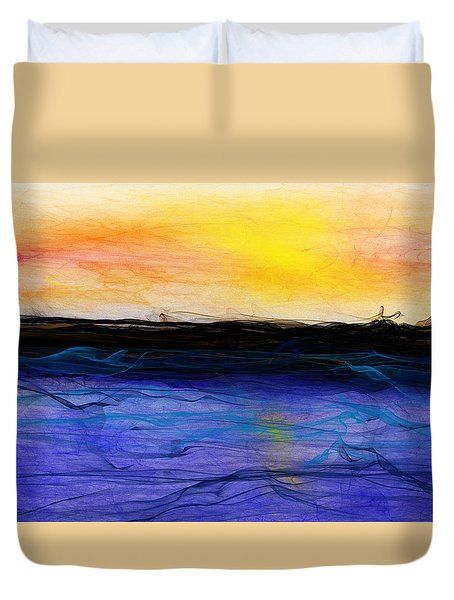Confusion Never Stops - Curse Me - And We Will Fly A 50 Seas  Duvet Cover