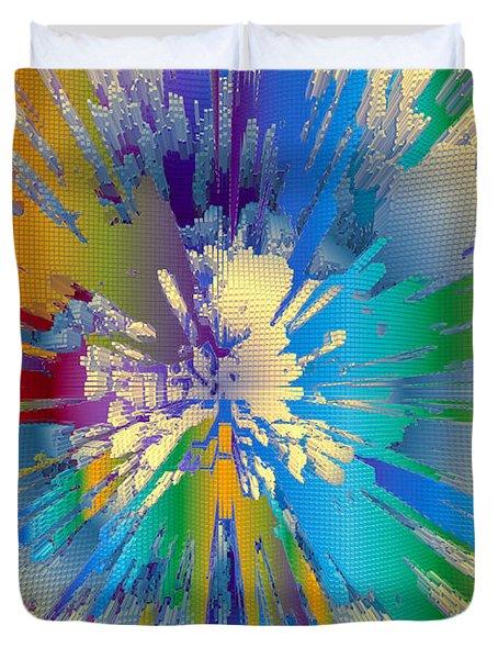 Coloratura Soprano Duvet Cover by Moustafa Al Hatter