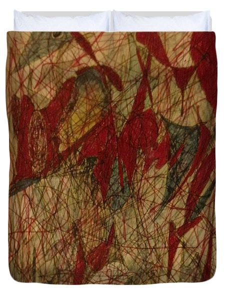 Conglomerate Synthesis  Duvet Cover