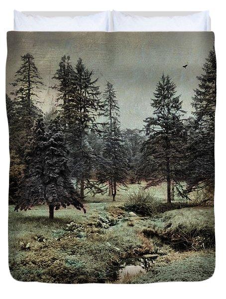 Conifer Meadow Duvet Cover