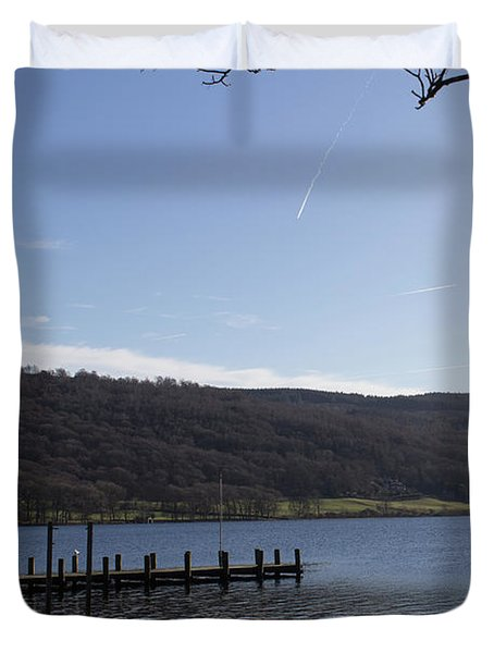 Coniston Jetty Duvet Cover