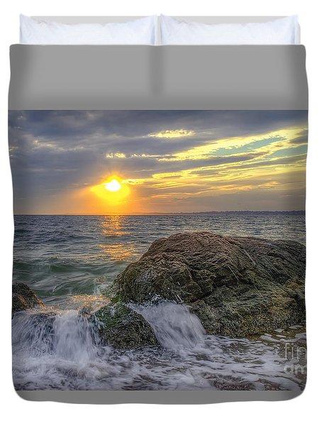 Connecticut Sunset Duvet Cover