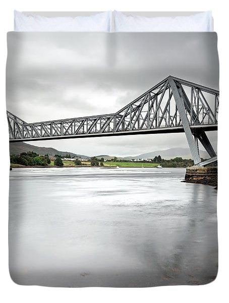 Connel Bridge Duvet Cover