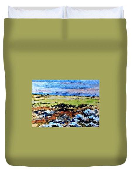 F  801  Connemara Golf, Ballyconneely, Galway Duvet Cover