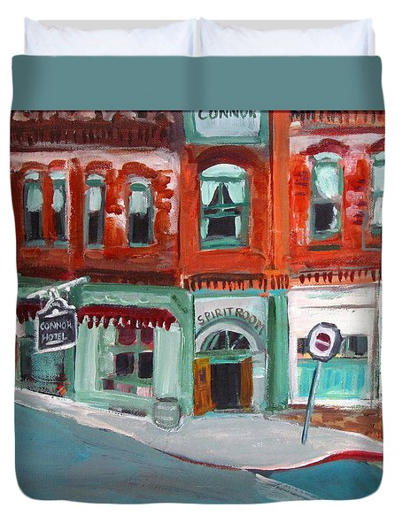 Connor Hotel In Jerome Duvet Cover