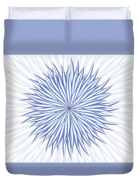 Duvet Cover featuring the digital art Consontrate by Jamie Lynn