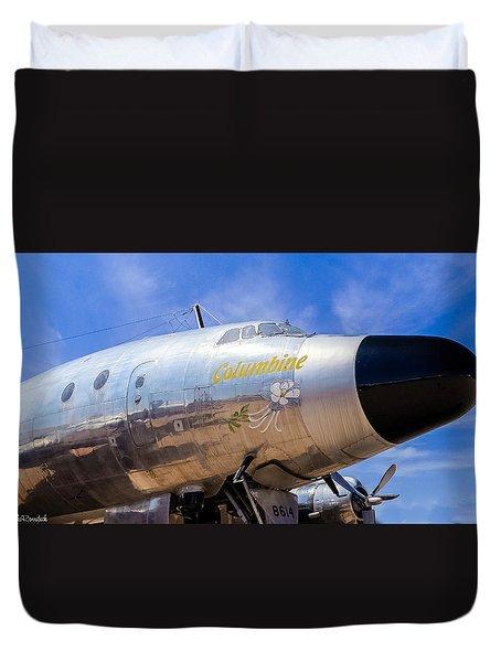 Constellation Columbine Duvet Cover