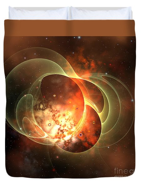 Constellation Duvet Cover by Corey Ford