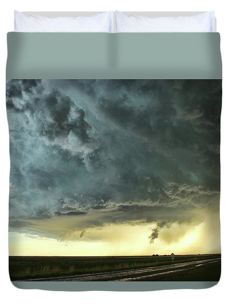 Duvet Cover featuring the photograph Consul Beast by Ryan Crouse