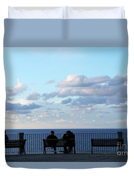 Contemplation Duvet Cover by Ana Mireles