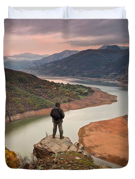 Contemplation Duvet Cover by Evgeni Dinev