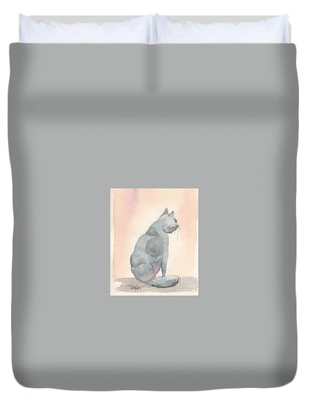 Contemplation Duvet Cover