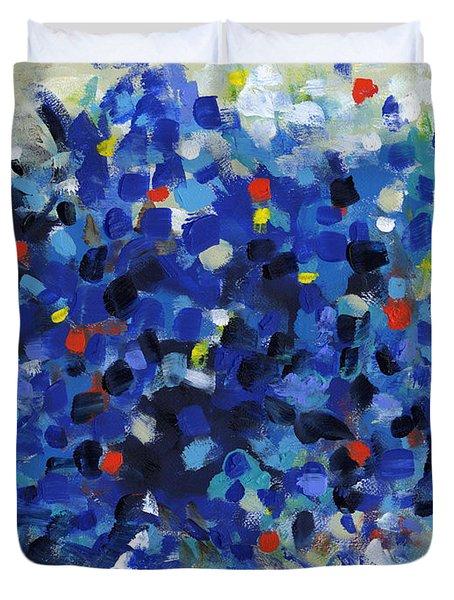 Contemporary Art Fifty Duvet Cover