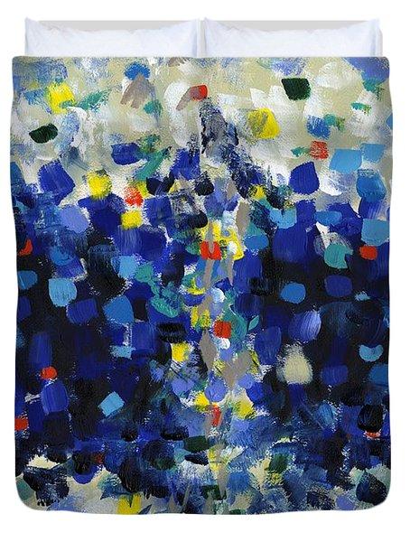 Contemporary Art Forty-four Duvet Cover