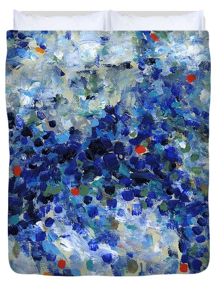 Contemporary Art Forty-nine Duvet Cover