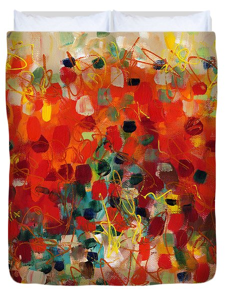 Contemporary Art Thirty-three Duvet Cover