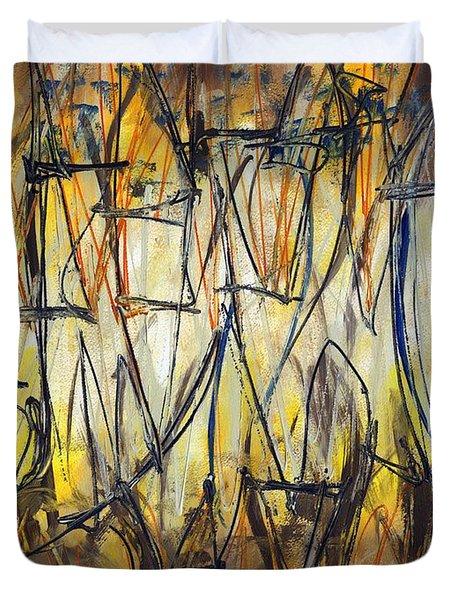 Contemporary Art Three Duvet Cover