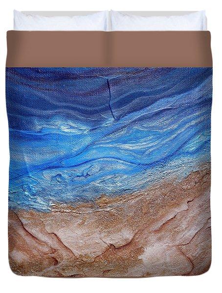 Contemporary Beach Deeper Duvet Cover