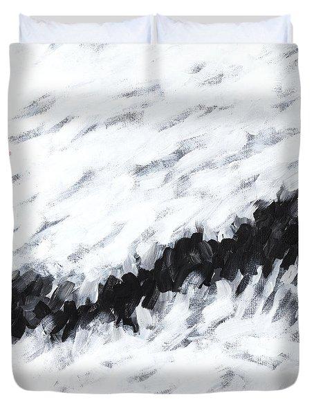 Contemporary Landscape 1of2 Duvet Cover