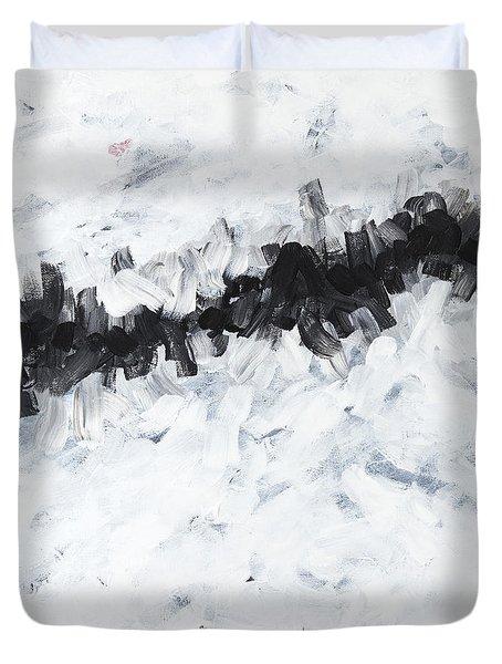 Contemporary Landscape 2of2 Duvet Cover