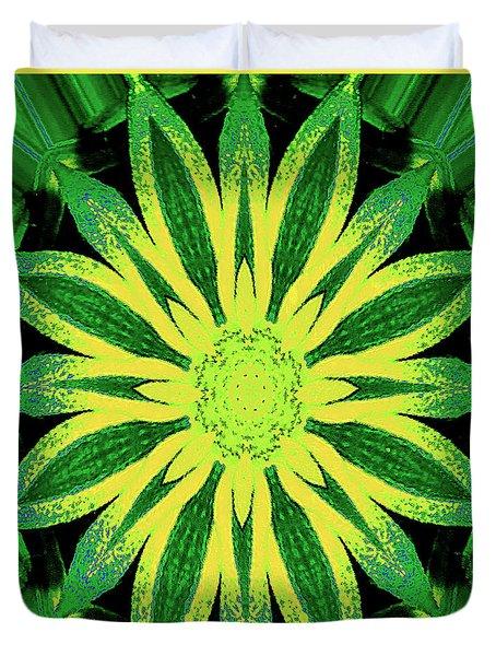 Duvet Cover featuring the digital art Contemporary Mathematical 4-8-16 Octangular Art by Merton Allen