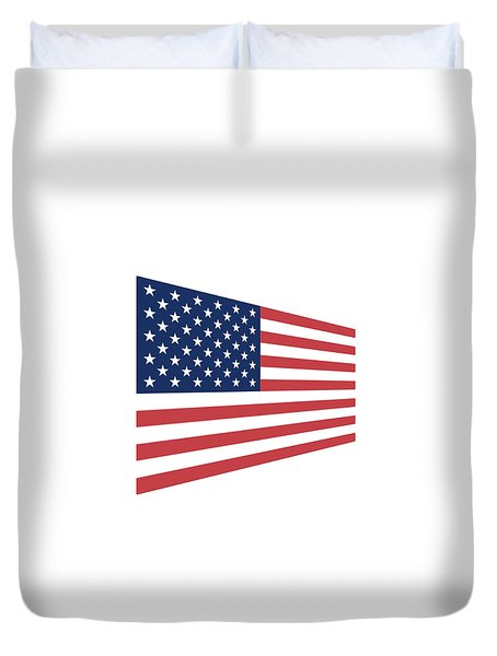 Contemporaryusa Flag Duvet Cover