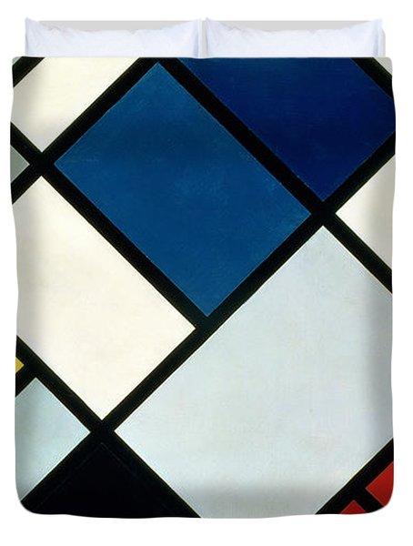 Contracomposition Of Dissonances Duvet Cover by Theo van Doesburg