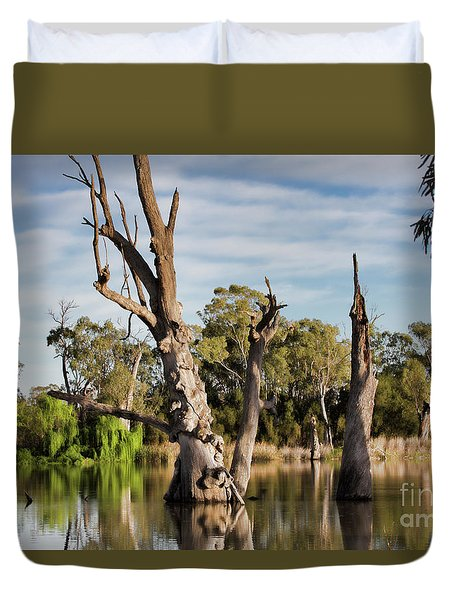 Contrasted Duvet Cover by Douglas Barnard