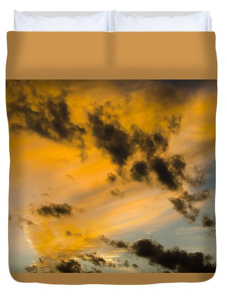 Contrasts Duvet Cover by Wanda Krack