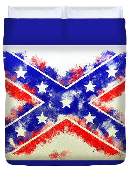 Controversial Flag Duvet Cover