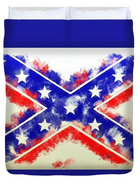 Controversial Flag Duvet Cover