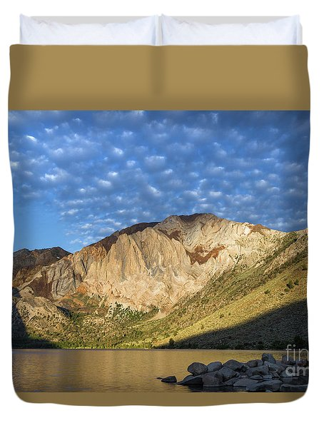 Convict Lake  Duvet Cover