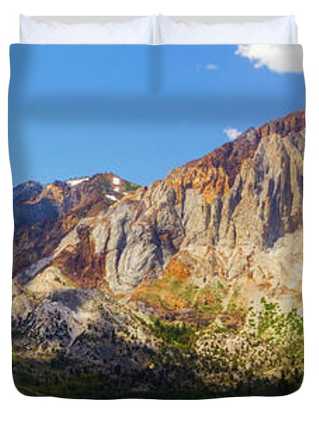 Convict Lake - Mammoth Lakes, California Duvet Cover