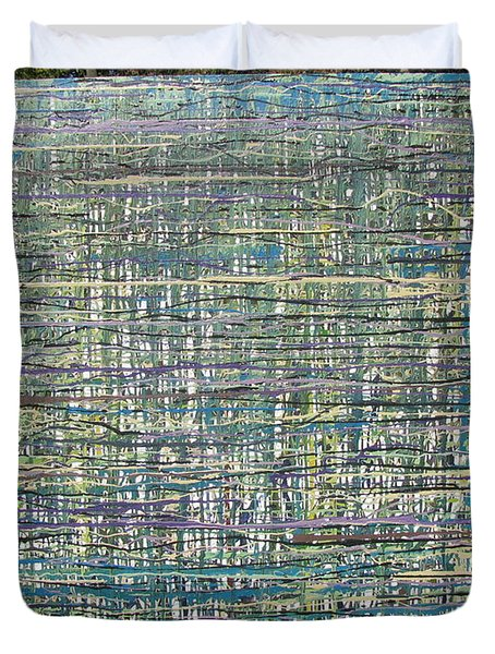 Convoluted Duvet Cover by Jacqueline Athmann