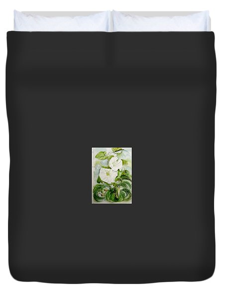 Convolvulus.3. Duvet Cover by SJV Jeffery-Swailes