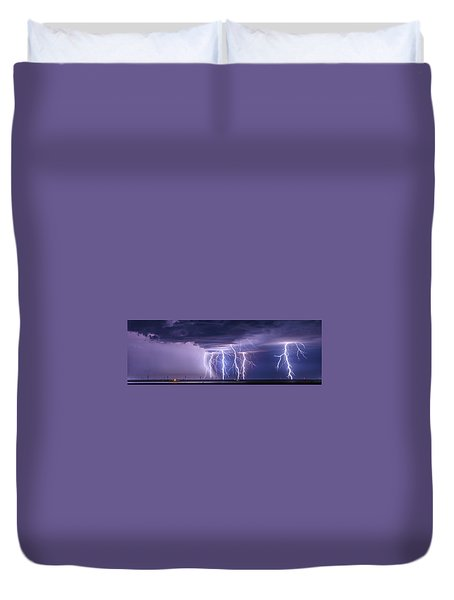 Conway Bolts Duvet Cover