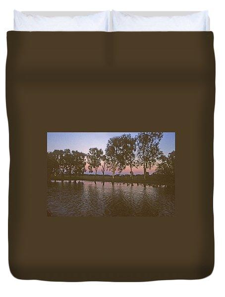 Cooinda Northern Territory Australia Duvet Cover
