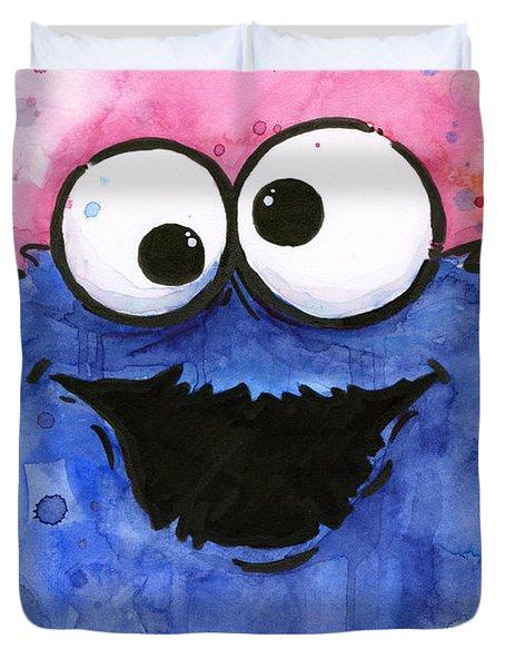 Cookie Monster Duvet Cover
