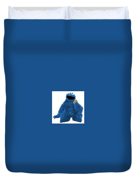 Cookie Monster Duvet Cover