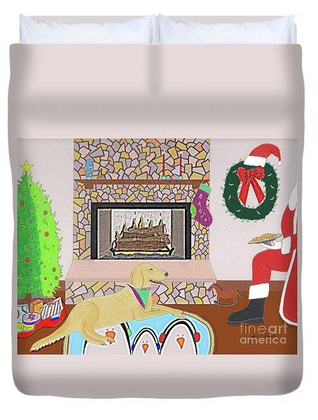 Cookies For Banjo Duvet Cover