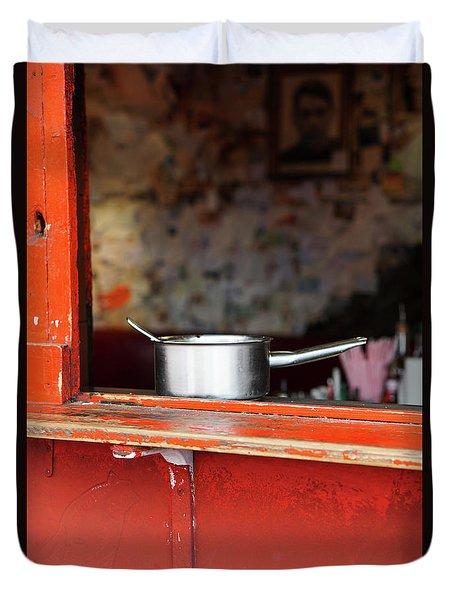 Cooking Pot Duvet Cover