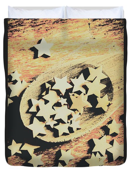 Cooking With The Stars Duvet Cover
