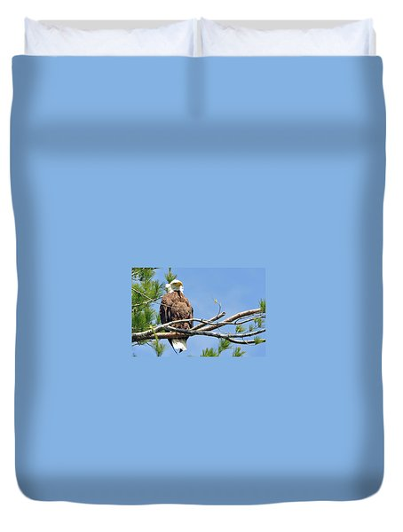 Duvet Cover featuring the photograph Cool Breeze by Glenn Gordon