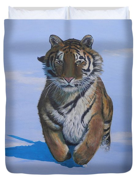 Cool Cat Duvet Cover