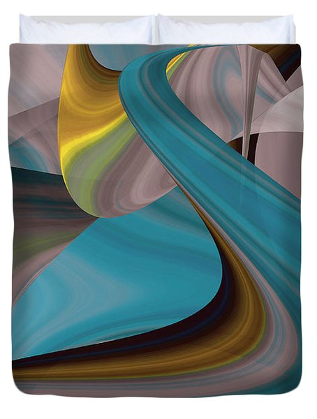 Cool Curvelicious Duvet Cover