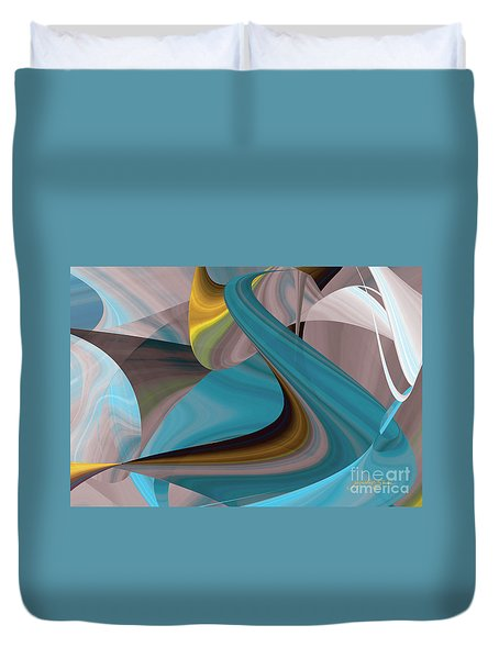 Cool Curvelicious Duvet Cover