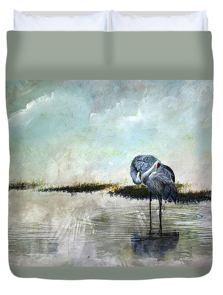 Cool Evening  Duvet Cover