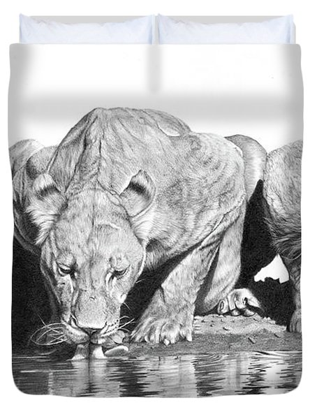 Cool For Cats Duvet Cover